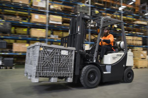 Forklifts flaunt new features