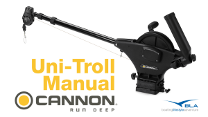 BLA Trade Talk: Cannon Manual Downrigger - Uni-Troll