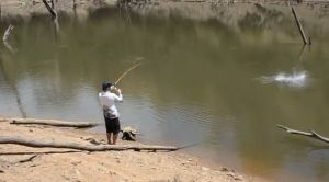 VIDEO: Catching carp on soft plastics