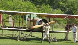 FRIDAY FLYING VIDEO: Caudron G3