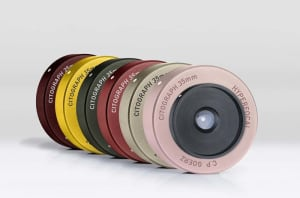 The Citograph 35 is a 35mm lens that's always in focus