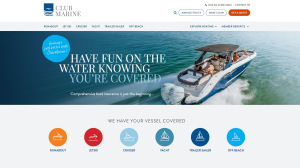 New look online for Club Marine