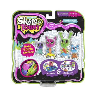 Welcome to Skeletown! The spooky-cute, create-your-own collectables
