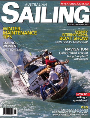 Winter maintenance, women in sailing, J Class and lots of nav tips in August-September Australian Sailing