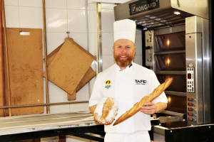 TAFE's baking teacher to compete for World Master Baker title in Paris