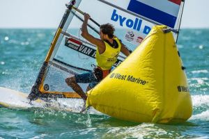 First medals of the Rio Olympic sailing decided as van Rysselberghe dominates RS:X