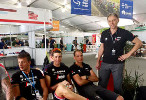 Trek-Segafredo Team Doctor Discusses Competing In The Heat
