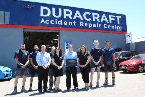 Golden days for Duracraft Accident Repair Centre