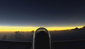 FRIDAY FLYING VIDEO: Solar Eclipse Aeros