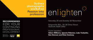 Five of Australia's best landscape photographers team up for new workshop