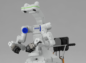 Epson's moveable dual-arm robot