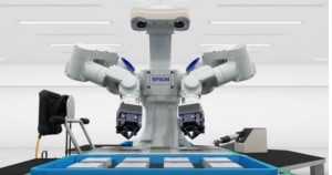 Epson rolls moveable dual-arm robot off the production line
