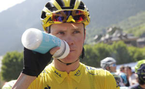 Chris Froome Talks Nutrition, Hydration And Warm-Weather Cycling