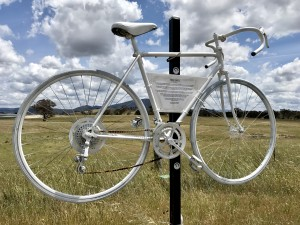 A Visit To Mike Hall's Ghost Bike As 'Investigation Continues'