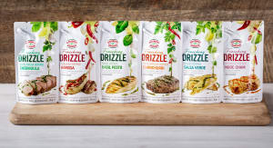 Gourmet Garden's first-to-market drizzle sauce and spouted pouch