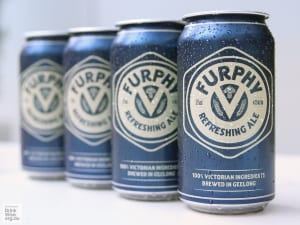 Furphy beer will now come in cans
