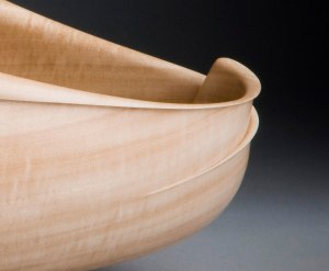 Carving a bowl with Grant Vaughan