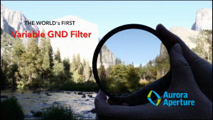 The world's first variable graduated ND filter has been announced