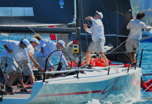 MC38 Autumn Regatta light air debut for new owner