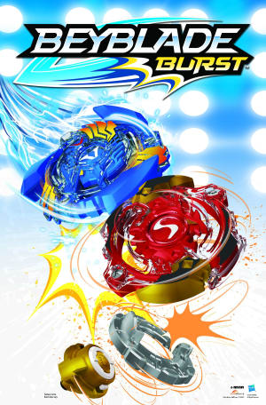 Spin out with Beyblade from Hasbro