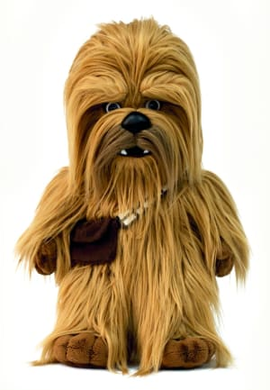Roaring Chewbacca feature plush from HeadStart
