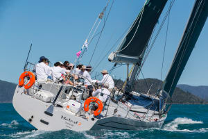Trainee doctors versus champion skiffies at Airlie Beach Race Week