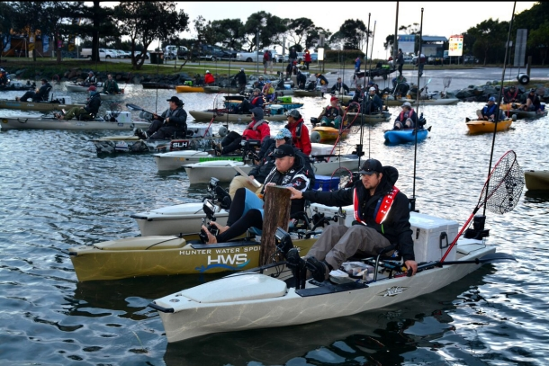 Breamers out in force for Hobie Forster round