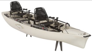 Hobie Tandem 'yak debuts at Sydney International Boat Show