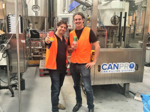 Award-winning Melbourne craft brewer installs first rotary canning line