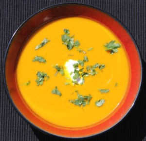 Recipe: Curried carrot and apple soup