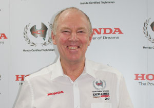 Honda rewards Australia's top techs