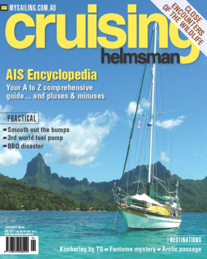 It's not rocket surgery, it is the AIS explained fully in January Cruising Helmsman
