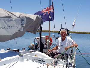 Jon Sanders completes tenth circumnavigation of the world