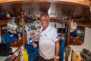Jon Sanders to circumnavigate the globe for the 11th time