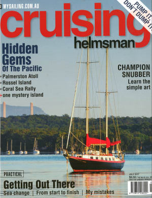 It's mid winter, time to get out there with July Cruising Helmsman