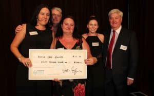 OP industry's $80k donation has real care factor