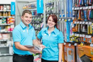Warehouse trials merger of stationery and general stores