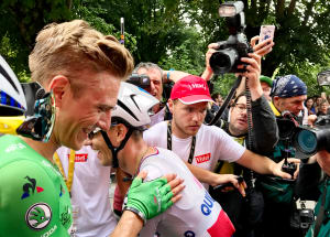 High Five: German Sprint Star Marcel Kittel Wins His 5th Stage Of The 2017 Tour de France.