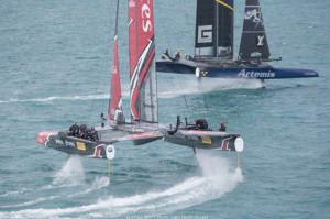 Details emerge of pro series for ditched America's Cup catamarans