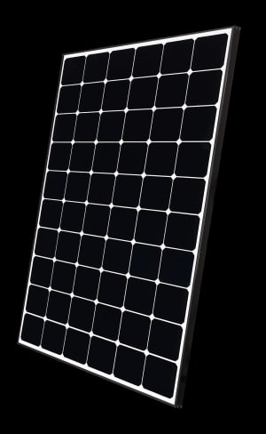 High performance solar offering from LG
