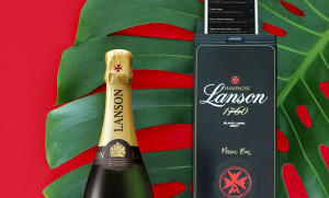 The champagne box that doubles as a music player