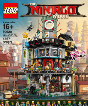 Lego unveils Ninjago Movie sets