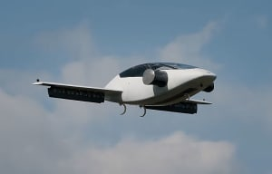 FRIDAY FLYING VIDEO: Lilium VTOL