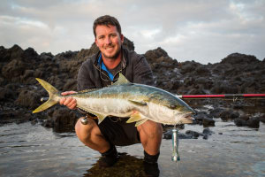 VIDEO: Norfolk Island land-based game action