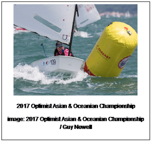 China wins 2017 Optimist Asian and Oceanian Championship