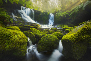 Behind the Lens: Horseshoe Falls landscape