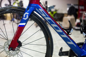 Scott Foil Disc: Triple National Champion Luka Mezgec's Custom Bike