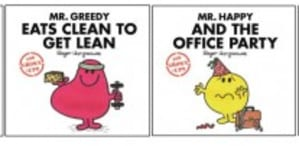 Parody Mr Men and Little Miss for Grown-Ups titles unveiled