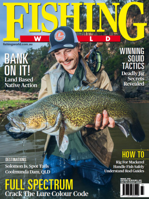 March Fishing World out now!