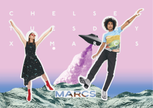Marcs returns with new collaborator
